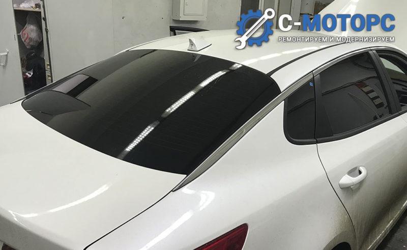 KIA Optima установка автозапуска