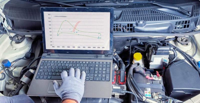 Компьютерная диагностика ошибок в автомобиле