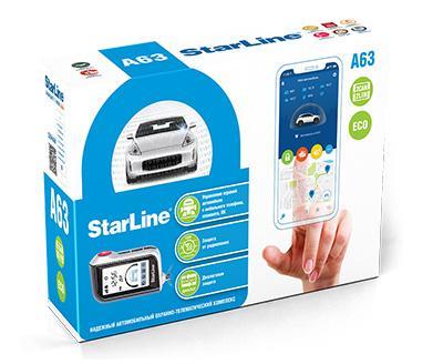 Сигнализация starline a63 2can
