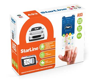 Сигнализация starline a93 2can GPS